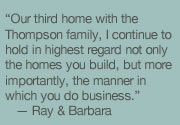 Apex Custom Homes Builder Testimonial